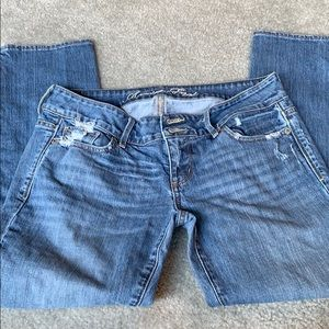 AE distressed crops